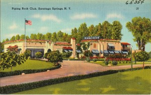 The 'incredible and garish' Piping Rock Club in Saratoga (Boston Public Library)
