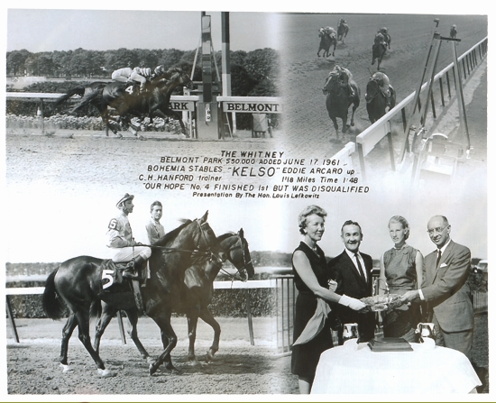 Kelso wins the Whitney, 1961